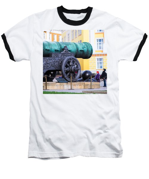 Tzar Cannon Of Moscow Kremlin - Square Baseball T-Shirt