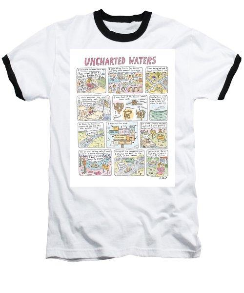 'uncharted Waters' Baseball T-Shirt