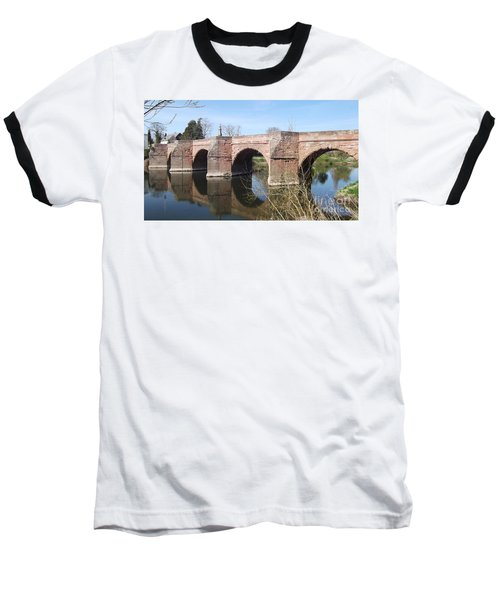 Under The Arches Baseball T-Shirt by Tracey Williams