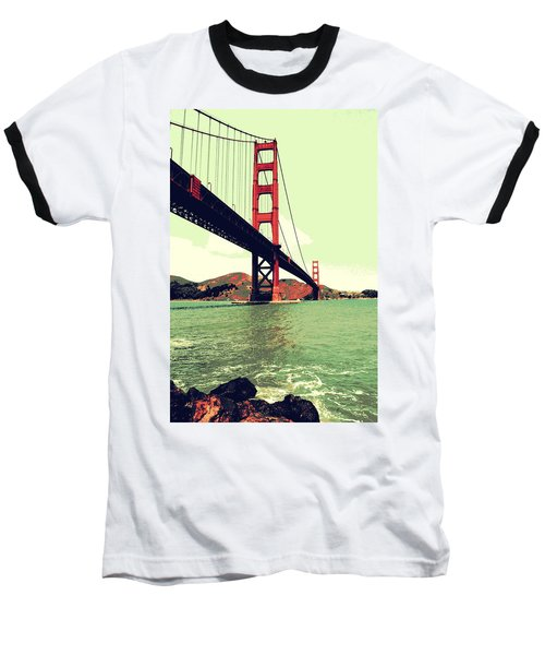 Under The Golden Gate Baseball T-Shirt