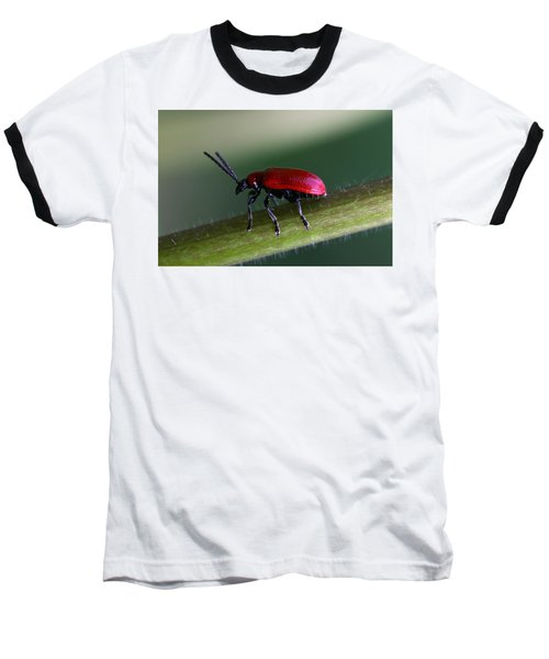 Baseball T-Shirt featuring the photograph Under Way by Annie Snel
