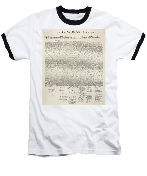 United States Bill Of Rights Baseball T-Shirt