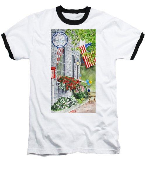 University Of Nantucket Shop Baseball T-Shirt