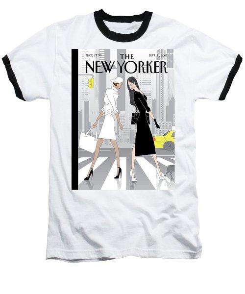 Crosswalk Baseball T-Shirt