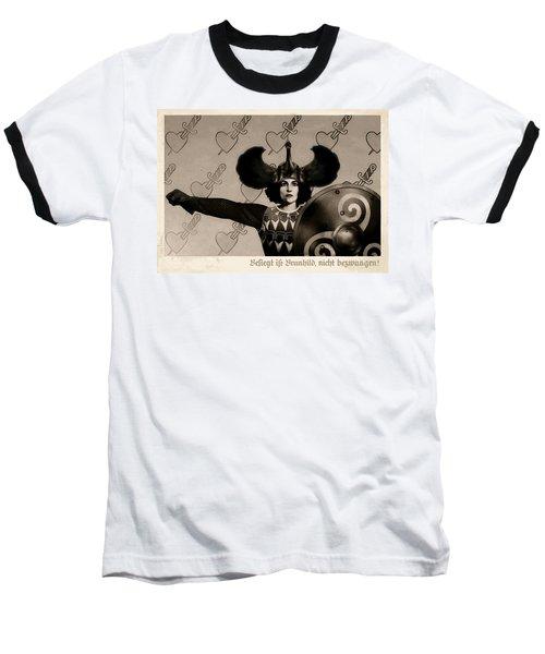 Unyielding Baseball T-Shirt by Udo Linke