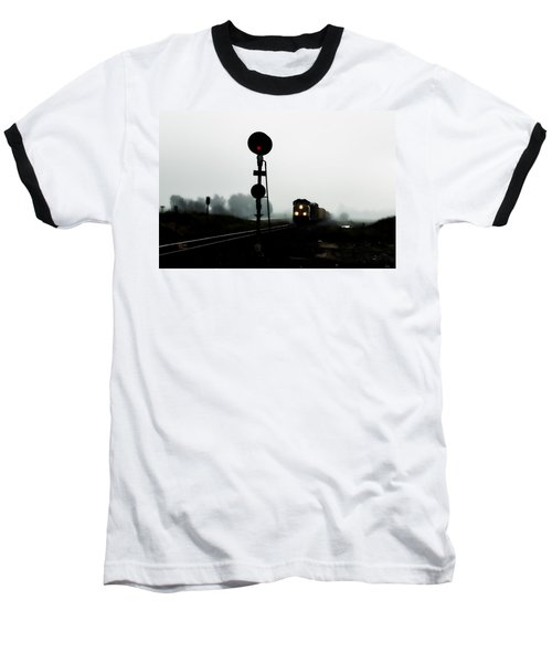 Baseball T-Shirt featuring the photograph Up 8057 by Jim Thompson