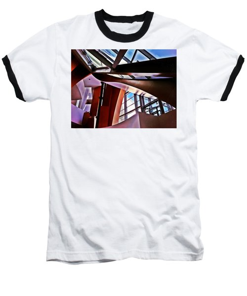 Urban Abstraction Baseball T-Shirt