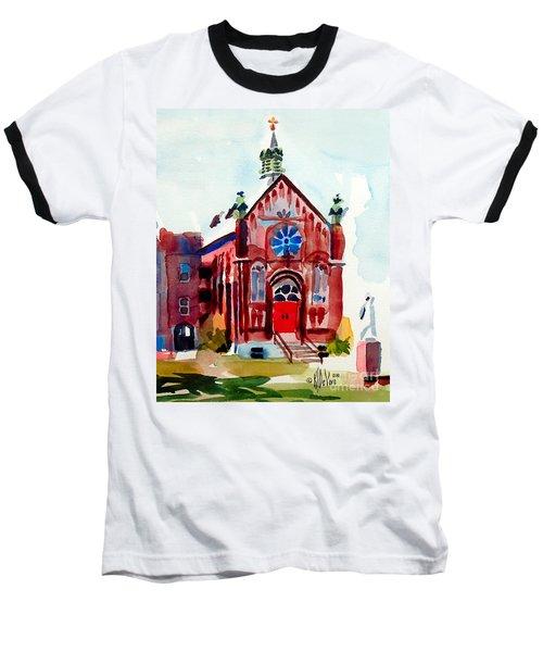 Ursuline II Sanctuary Baseball T-Shirt