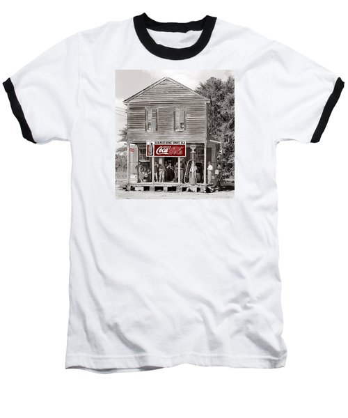 U.s. Post Office General Store Coca-cola Signs Sprott  Alabama Walker Evans Photo C.1935-2014. Baseball T-Shirt