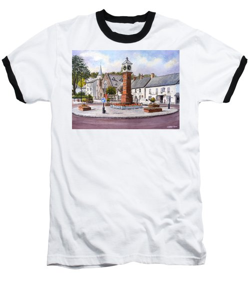 Usk In Bloom Baseball T-Shirt