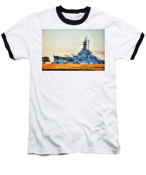 Uss Alabama Baseball T-Shirt