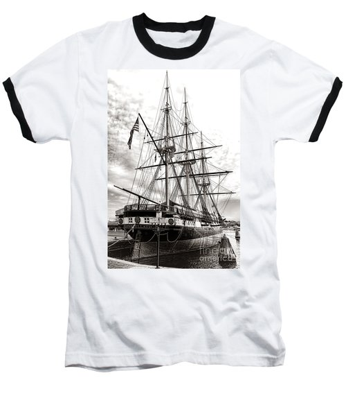 Uss Constellation Baseball T-Shirt