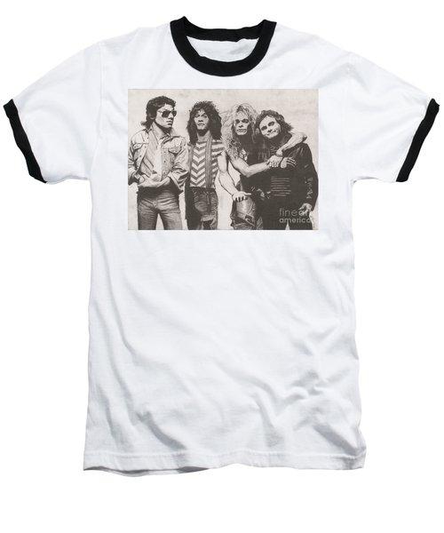 Van Halen Baseball T-Shirt by Jeff Ridlen