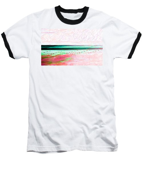 Baseball T-Shirt featuring the photograph Variations On An Abstract Theme by Chris Anderson