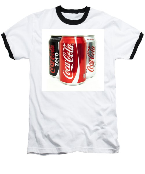 Various Coke Cola Cans Baseball T-Shirt