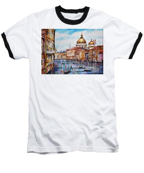 Venetian Paradise Baseball T-Shirt