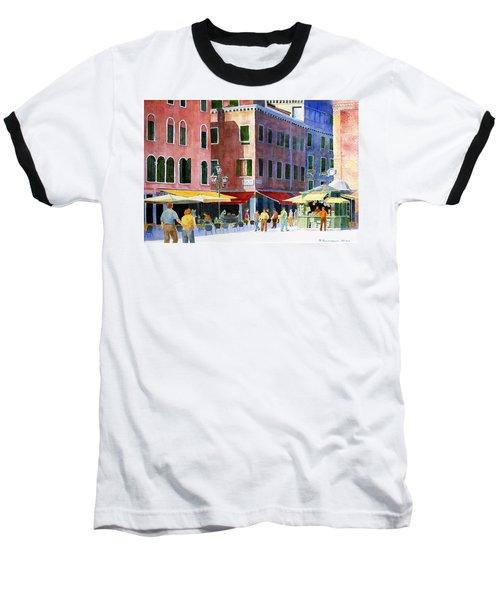 Venetian Piazza Baseball T-Shirt