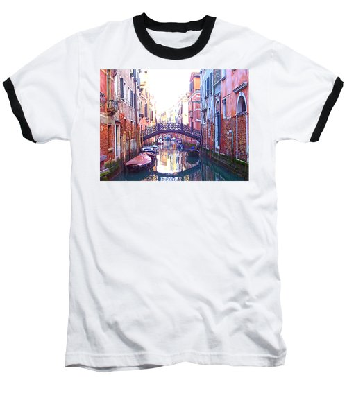 Venetian Reflections Baseball T-Shirt