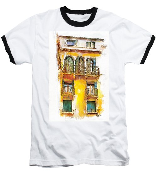 Radiant Abode Baseball T-Shirt by Greg Collins
