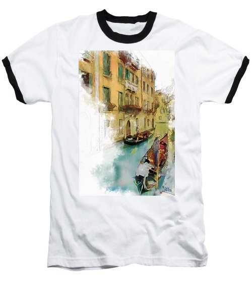 Venice 1 Baseball T-Shirt by Greg Collins