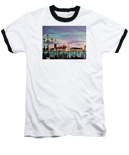 Venice  Italy By Jasna Gopic Baseball T-Shirt by Jasna Gopic