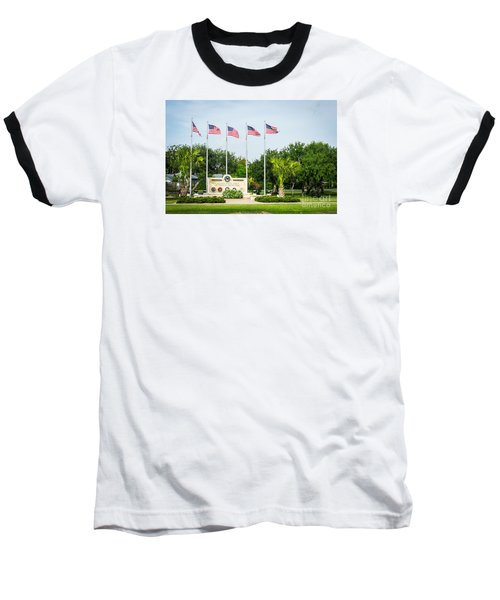 Veterans Memorial Laguna Vista Texas Baseball T-Shirt