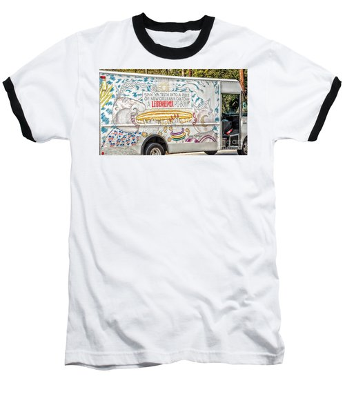 Vic And Nat'ly And The Leidenheimer Po-boy Truck - New Orleans Baseball T-Shirt