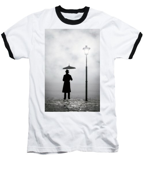 Victorian Man Baseball T-Shirt