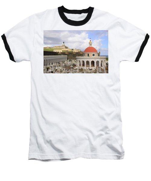 Viejo San Juan Baseball T-Shirt by Daniel Sheldon
