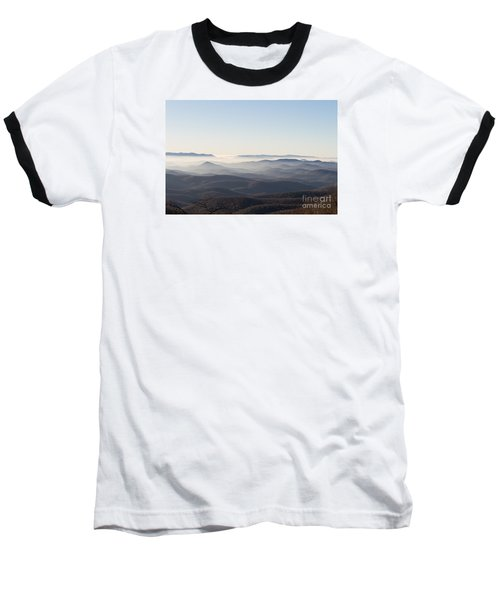 View From Blood Mountain Baseball T-Shirt by Paul Rebmann