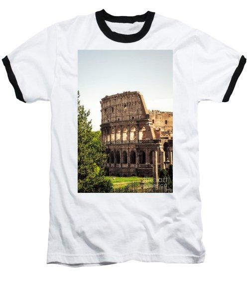 View Of Colosseum Baseball T-Shirt