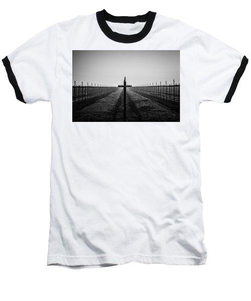 Vineyard Cross Baseball T-Shirt