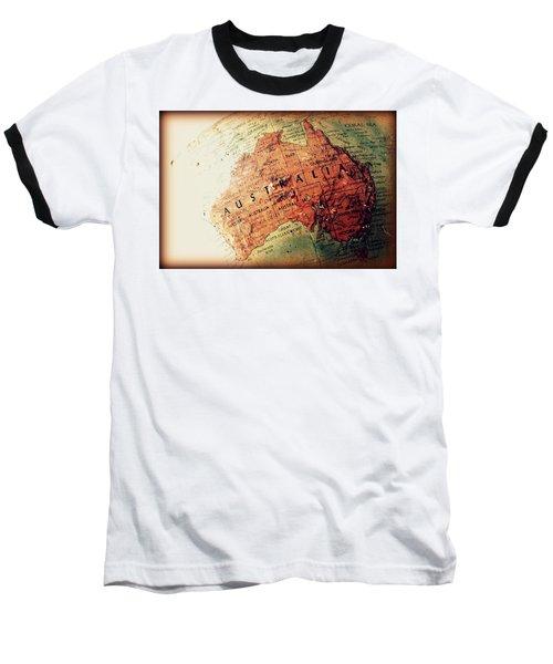Vintage Australia Baseball T-Shirt by Faith Williams