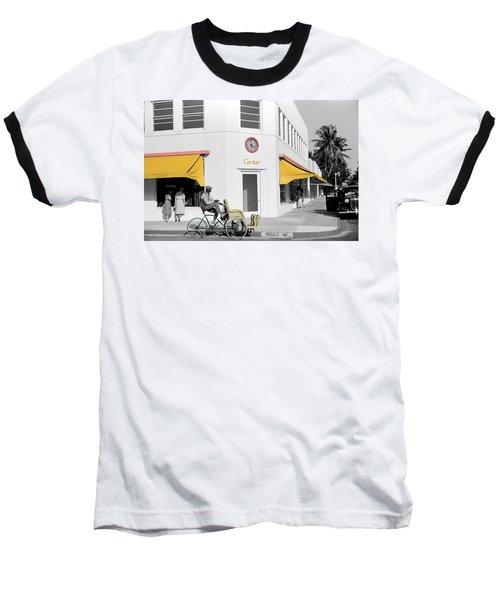 Vintage Cartier Store Baseball T-Shirt