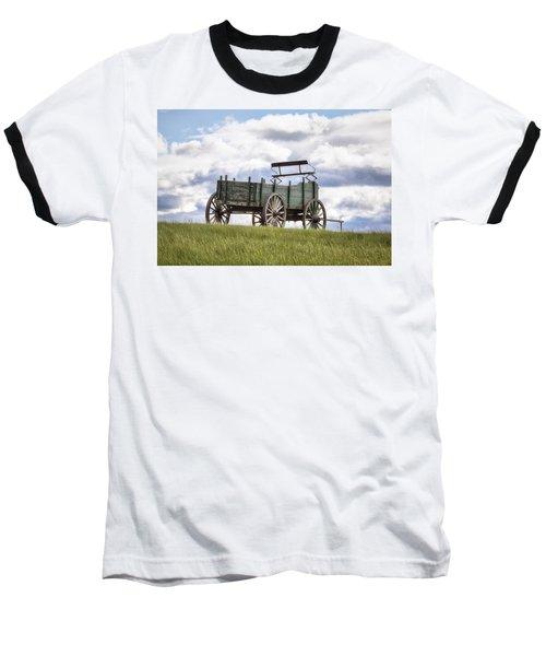 Wagon On A Hill Baseball T-Shirt