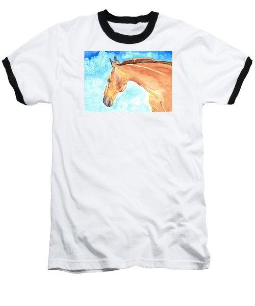 Waiting Silently Baseball T-Shirt