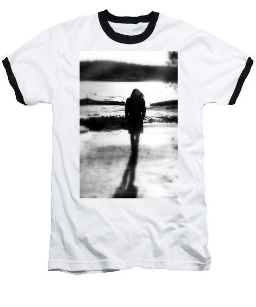 Walking Alone Baseball T-Shirt