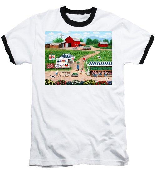Walter's Watermelons Baseball T-Shirt