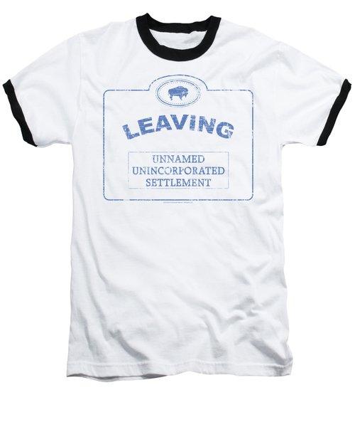 Warehouse 13 - Now Leaving Univille Baseball T-Shirt