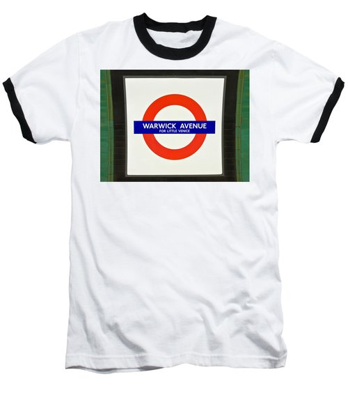 Warwick Station Baseball T-Shirt by Keith Armstrong