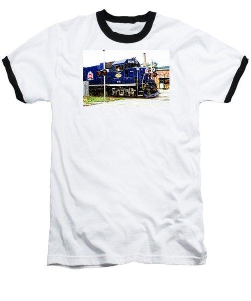 Baseball T-Shirt featuring the photograph Washington County Railroad by Mike Martin