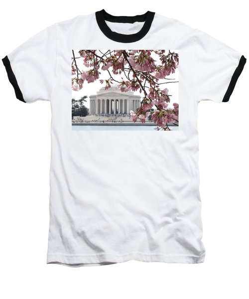Washington Dc In Bloom Baseball T-Shirt