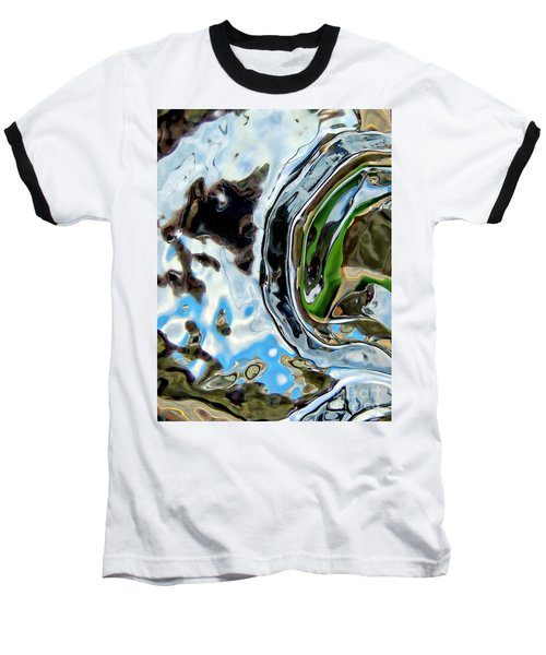 Water Captivates Baseball T-Shirt
