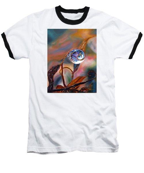 Water Drop Reflections Baseball T-Shirt