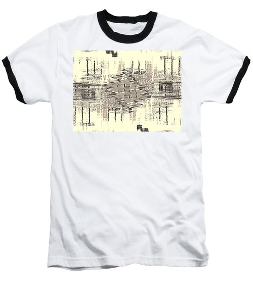 Water  Graph Baseball T-Shirt