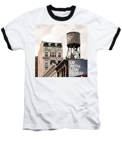 Water Towers 14 - New York City Baseball T-Shirt
