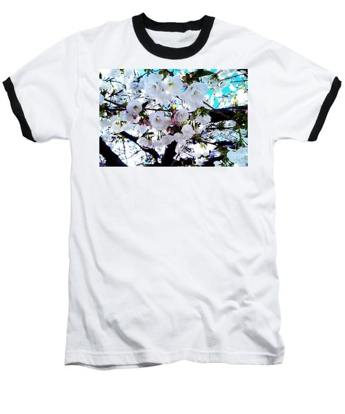 Baseball T-Shirt featuring the photograph Blanche by Vanessa Palomino
