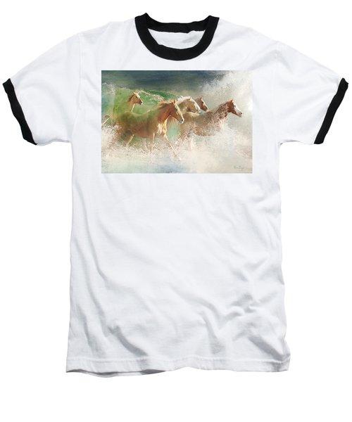 Waves Of God's Glory Baseball T-Shirt