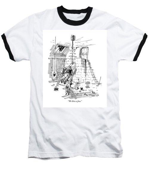 We Blew A Fuse Baseball T-Shirt