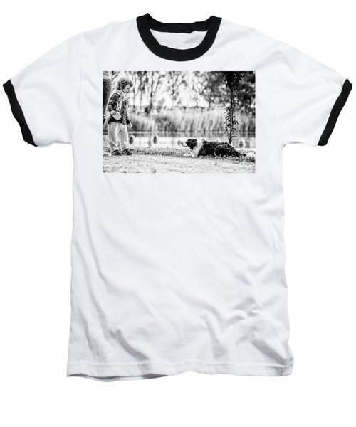 We Live As We Dream Baseball T-Shirt